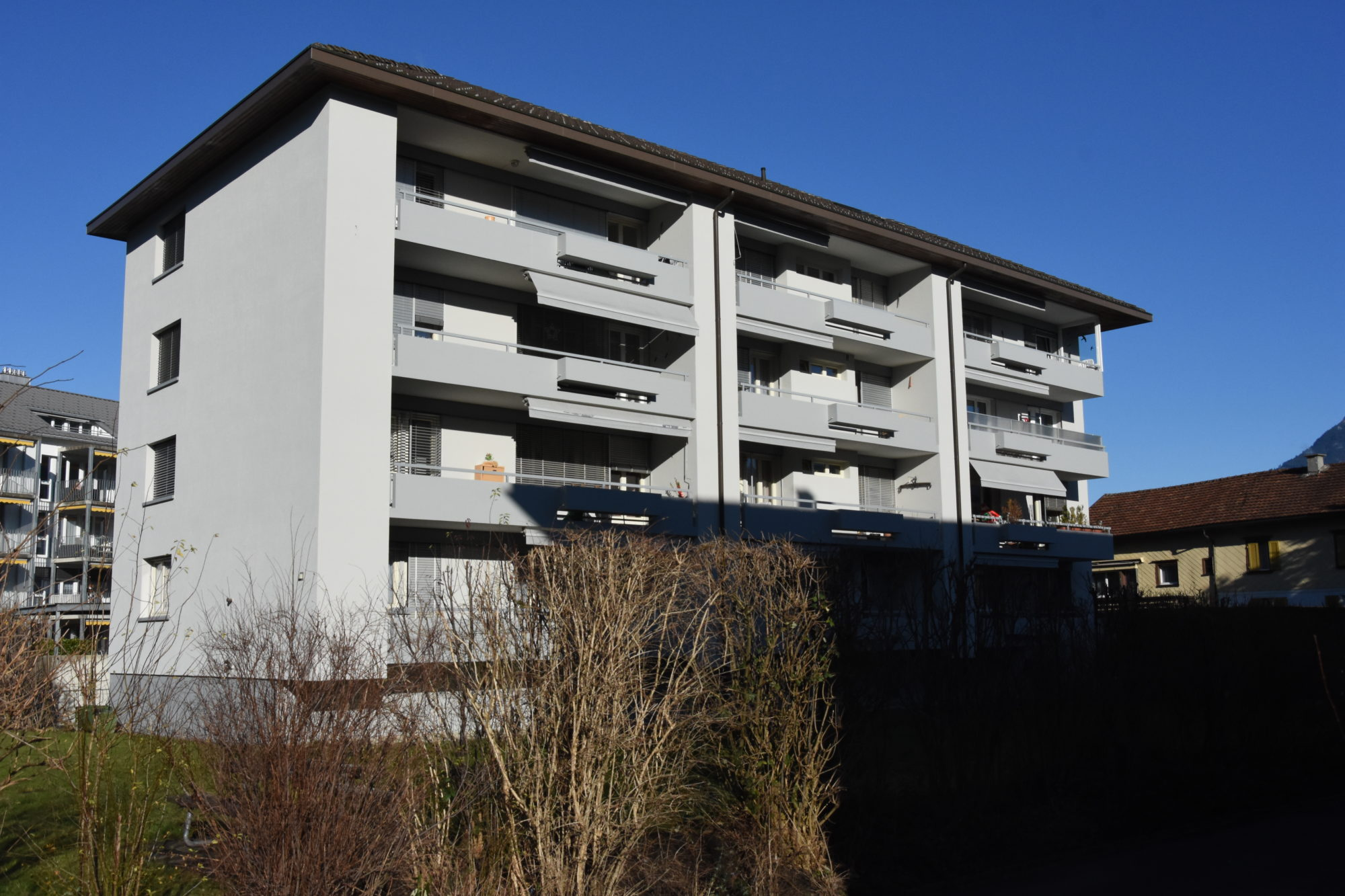 MFH Churerstrasse, Buchs
