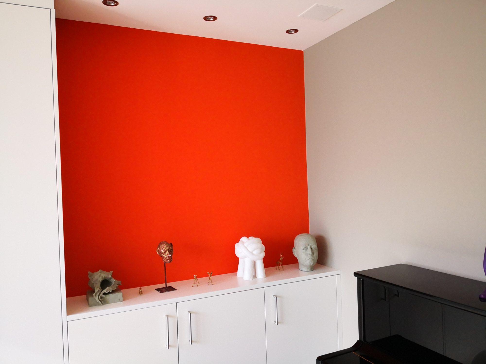 Farbgestaltung Wohnhaus