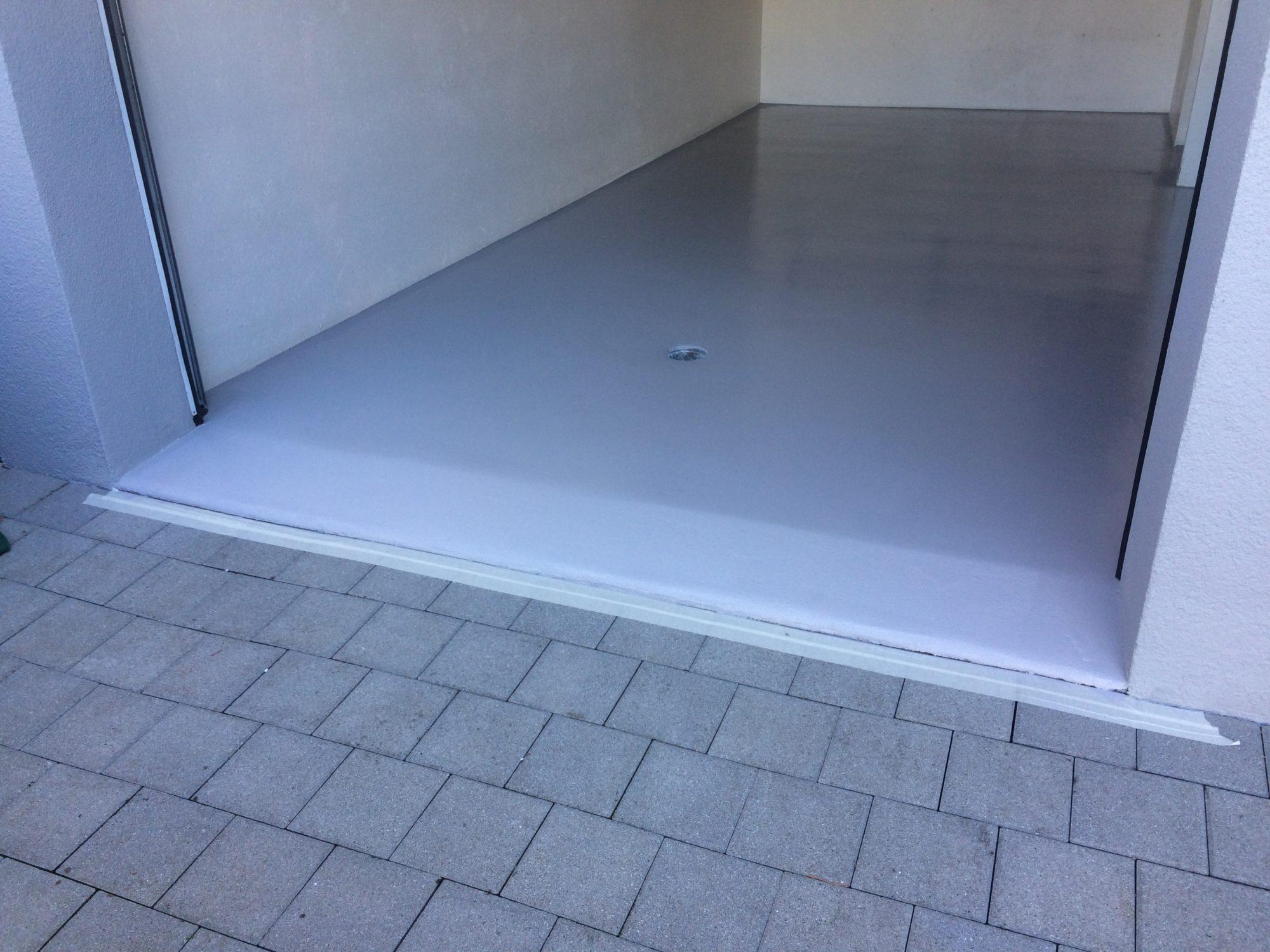 Polyurethan-Bodenbeschichtung
