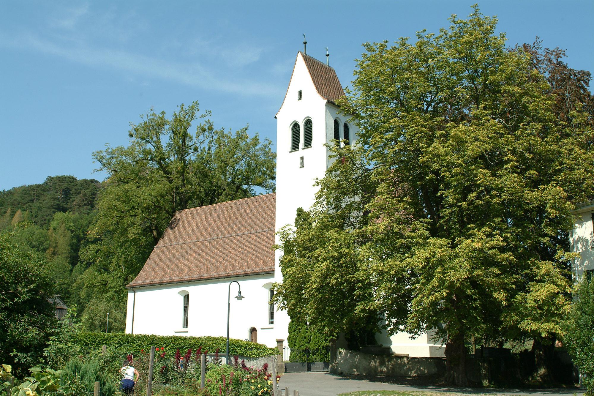 Denkmalschutz – Objekt, Kirche Gretschins