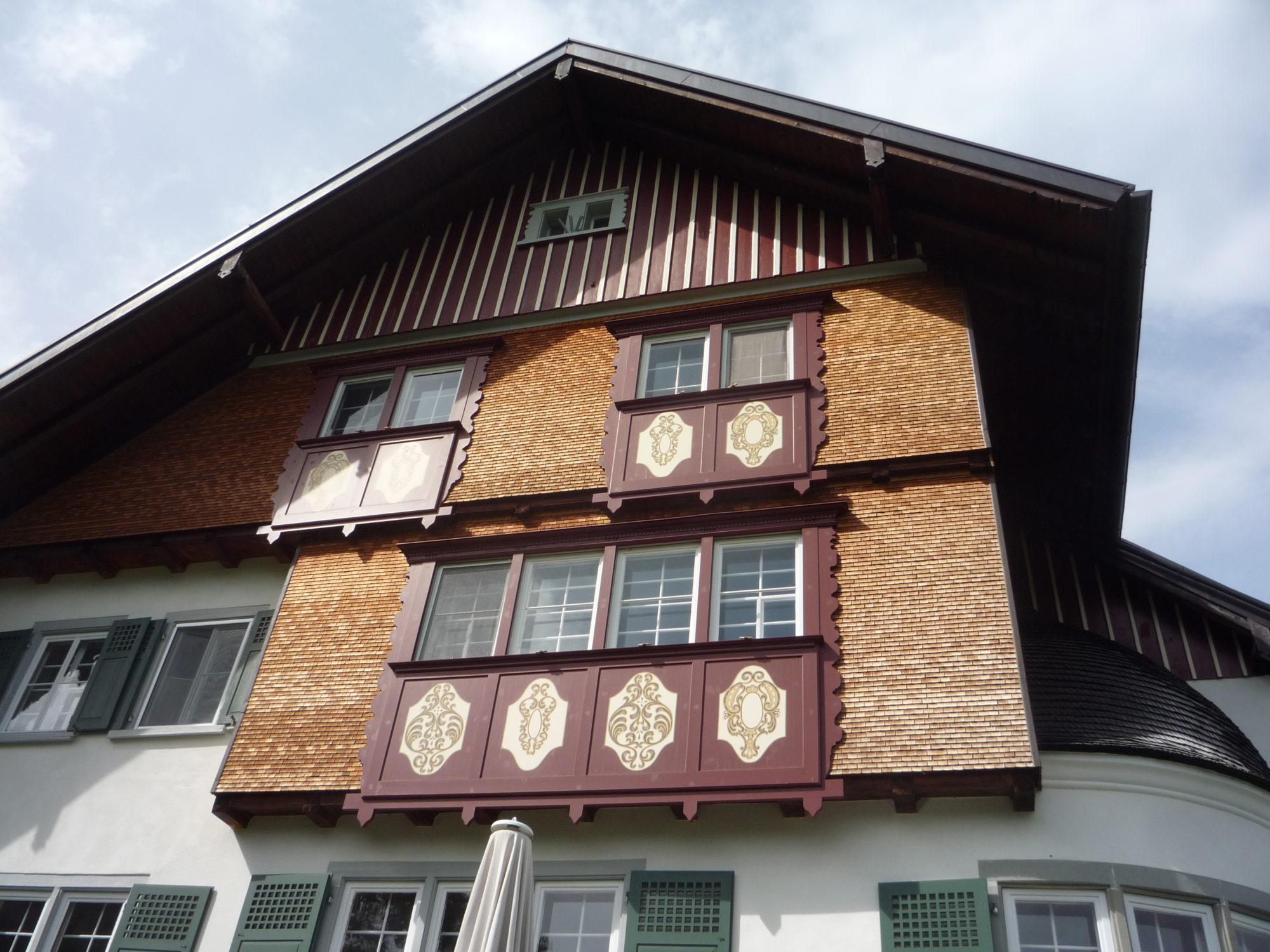 Tafelmalerei Wohnhaus, Werdenberg